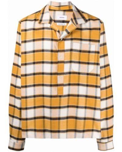 Żółta koszula Rhude