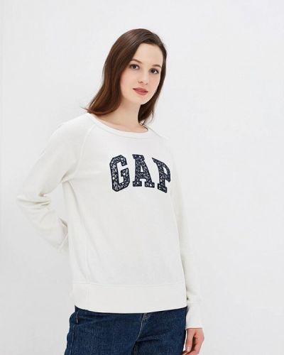 Белый свитшот Gap