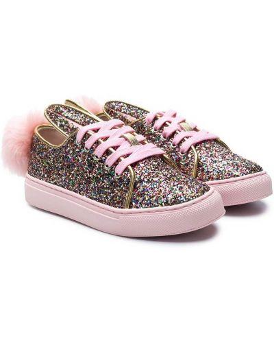 Светло-розовые кроссовки Minna Parikka Kids