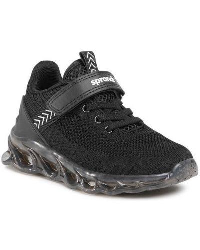 Czarne sneakersy Sprandi