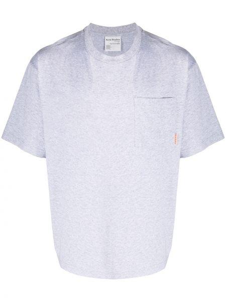 Koszula krótkie z krótkim rękawem prosto z kieszeniami Acne Studios