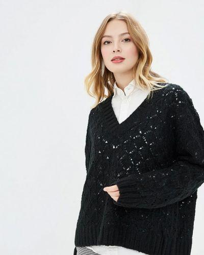 Пуловер черный By Swan