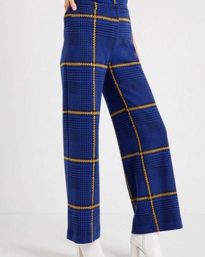 Синие брюки повседневные Bgn