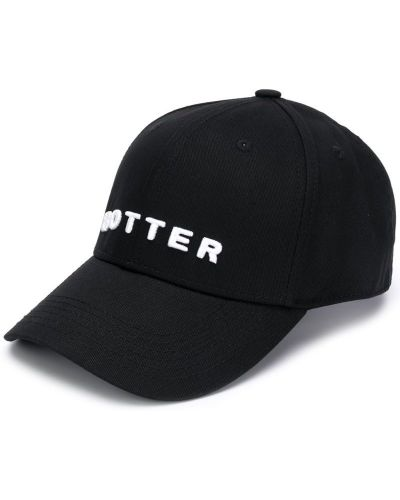Бейсболка черная с логотипом Botter