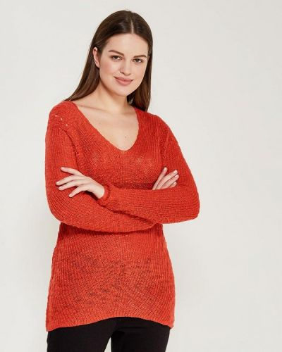 Оранжевый пуловер Violeta By Mango