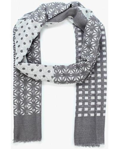 Серый шарф Piazza Italia