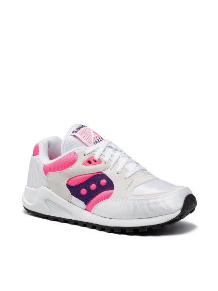 Białe sneakersy Saucony