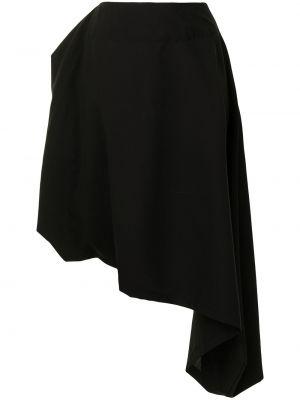 Czarna spódnica wełniana Yohji Yamamoto
