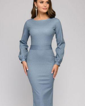 Повседневное платье с поясом платье-сарафан 1001 Dress