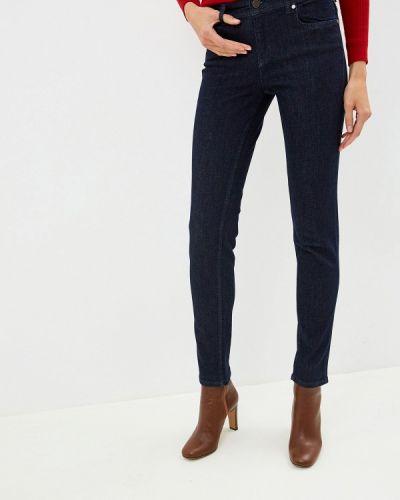 Джинсы-скинни с пайетками Versace Jeans