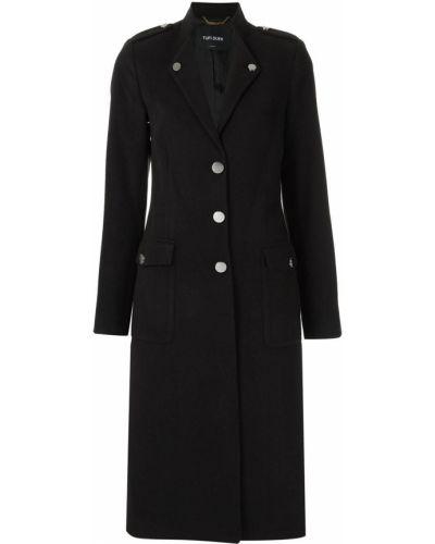 Длинное пальто - черное Tufi Duek