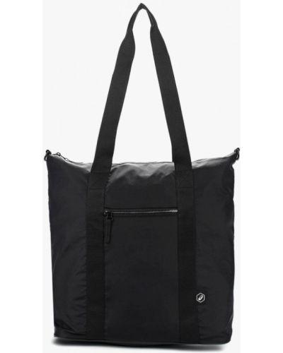 Черная спортивная сумка Asics
