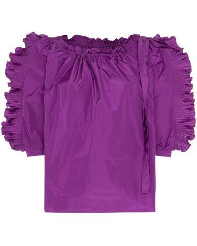 Топ с оборками фиолетовый See By Chloé