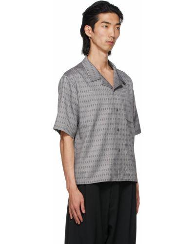 Koszula krótki rękaw wełniana Gmbh