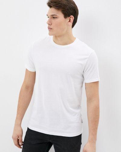 Разноцветная футболка - белая Burton Menswear London