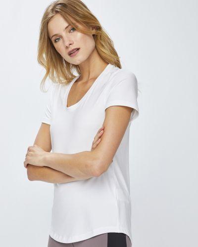 Спортивная футболка белая эластичный Reebok