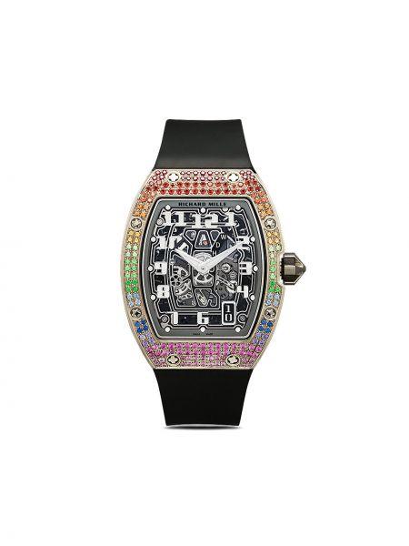 Золотистые часы золотые c сапфиром Mad Paris