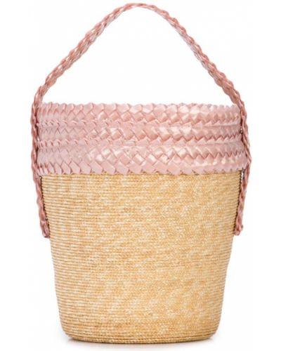 Плетеная сумка Gigi Burris Millinery
