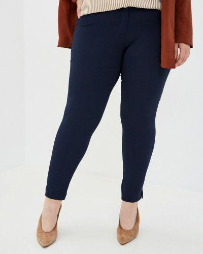Классические синие классические брюки Trussardi Collection