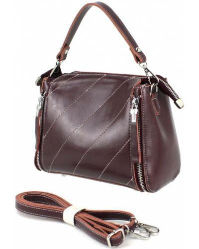 Кожаная сумка - красная Borsacomoda