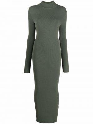 Зеленое прямое платье Ssheena