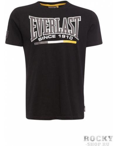 Футболка с логотипом прямая Everlast