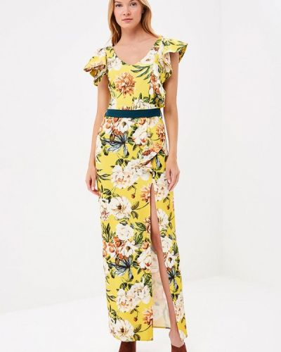 Желтое платье Bruebeck