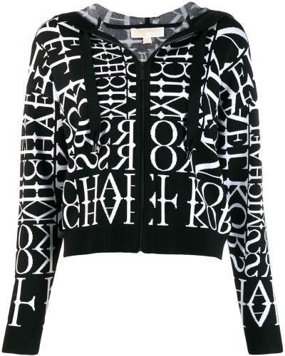 Кардиган с капюшоном черный Michael Kors Collection