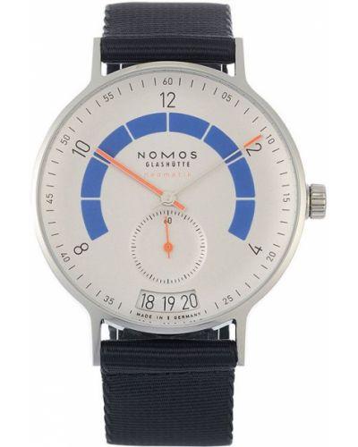 Часы с ремешком - серые Nomos Glashütte