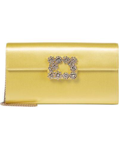 Kopertówka elegancka - żółta Roger Vivier