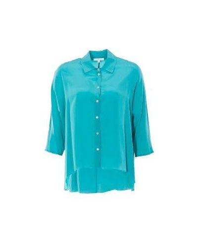 Зеленая блузка Patrizia Pepe