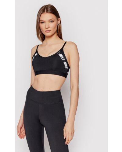 Biustonosz sportowy - czarny Nike