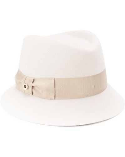 Бежевая шапка кашемировая Loro Piana