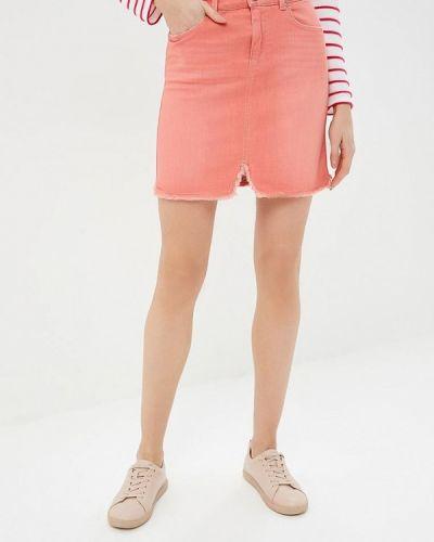 Джинсовая юбка розовая United Colors Of Benetton