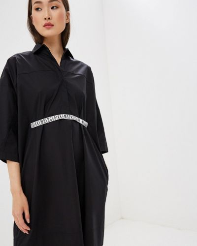Платье - черное Bikkembergs