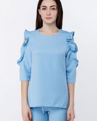 Голубая блузка Zubrytskaya