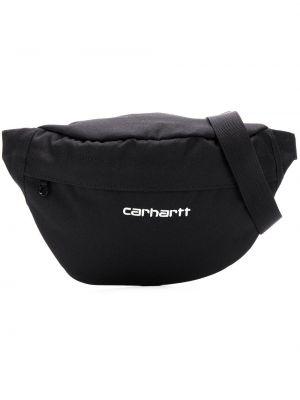 Черная поясная сумка с вышивкой на молнии Carhartt Wip