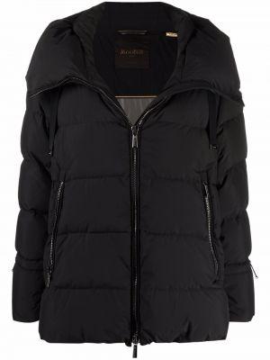 Черная куртка двусторонняя Moorer