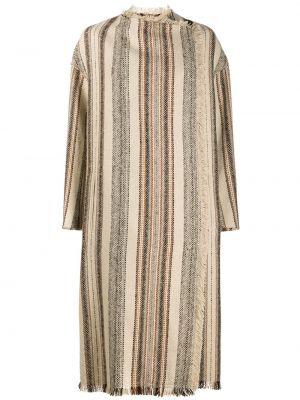 Свободное шерстяное длинное пальто свободного кроя Isabel Marant étoile