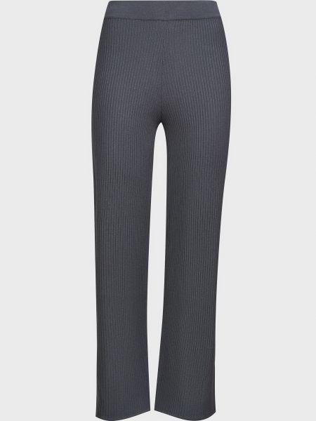 Серые брюки из вискозы Kontatto