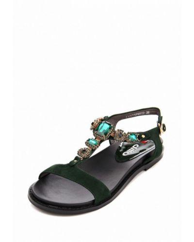 Зеленые сандалии Ditto