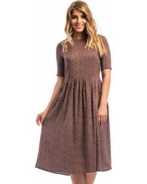 Платье из штапеля на молнии Modellos