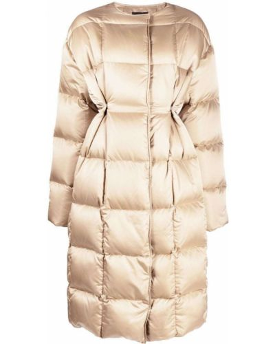 Płaszcz puchowy - beżowy Givenchy