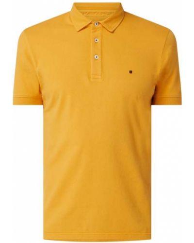Pomarańczowy t-shirt bawełniany Redgreen