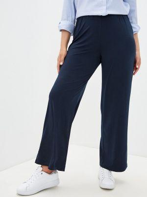 Синие прямые брюки Rosa Thea