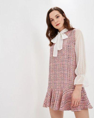Платье розовое осеннее Sister Jane