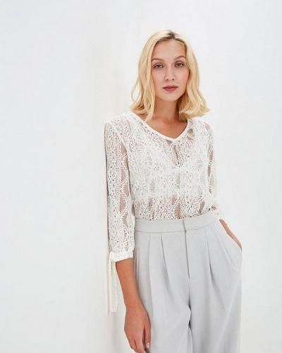 Белая блузка кружевная Sweewe