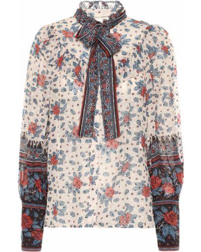 Блузка викторианская с воротником-стойкой Ulla Johnson