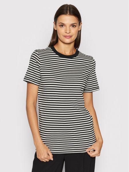 T-shirt - czarna Selected Femme