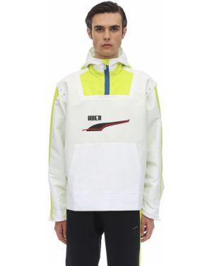 Biała kurtka z kapturem Puma Select